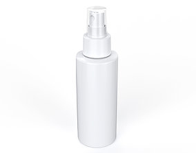 3D model Cosmetic Container 01 Medium Size