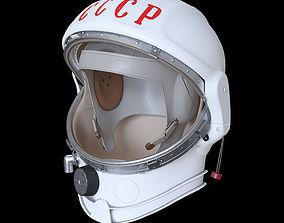 Space helmet USSR 3D