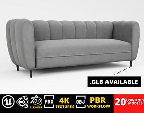 3D model Furniture Pack - Curved - Archviz Vol 1