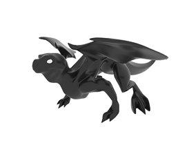 3D asset Small Iguana Dragon