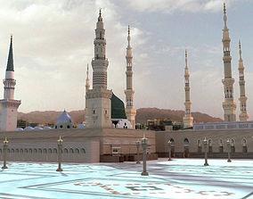 3D The Prophets Mosque