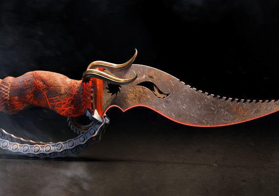 Steampunk Dagger