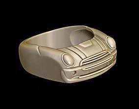 3D print model car ring