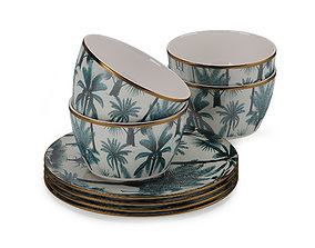 3D model H and M Patterned Porcelain Collection