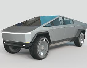 Tesla Cyberpunk truck 3D model