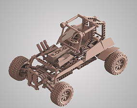 Lego Technic low poly 3d model