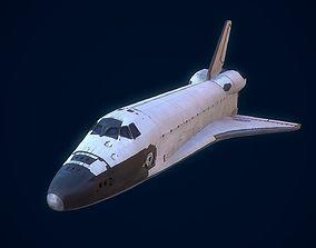 Space Shuttle 3D model realtime