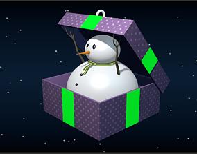 3D print model Snowman