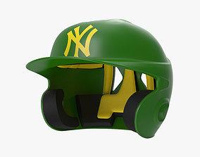 Batting Helmet NY 3D
