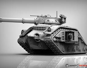 3D printable model Feudal Guard Battle Tank