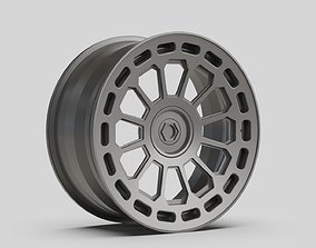 3D model rims wheel supen gen two