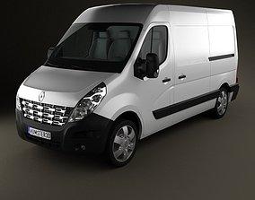 Renault Master PanelVan 2010 3D
