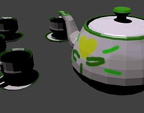 tea Tea Set 3D model