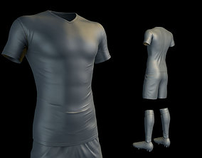 3D model Soccer Uniform