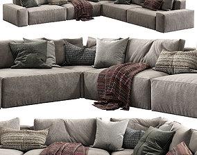 Jesse sofa Daniel composition 7 3D model