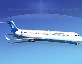 Comac ARJ21-900 Lao AIrlines 3D