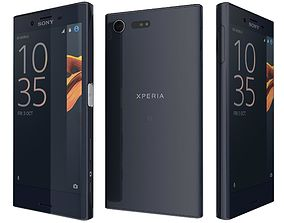 3D model Sony Xperia X Compact Universe black