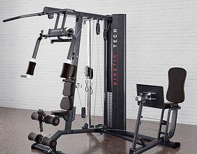 Gym equipment 01 am169 3D