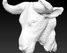 3D print model gnu head bust