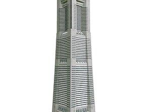 Yokohama Landmark Tower 3D model