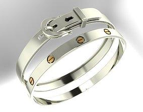 wedding bracelet fashion 3D printable model