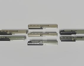 3D asset Upper Receiver - Weapon Attachment