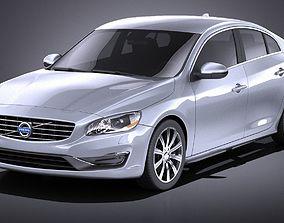 Volvo S60 2014 VRAY 3D