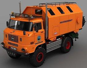 IFA W50-LAK 1980 3D model
