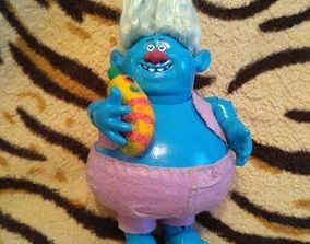 Troll from the cartoon of the same name for 3D printing