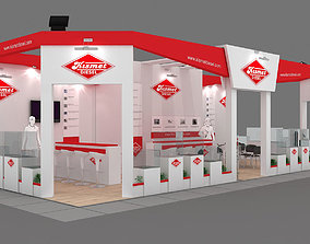 3D Exhibition Stand - ST0047