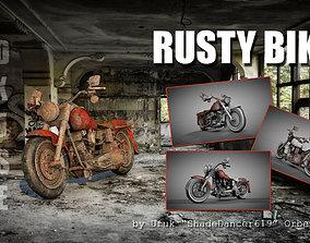 3D model Rusty Bike