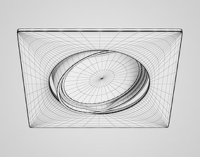 Single Ceiling Halogen Light 31 3D