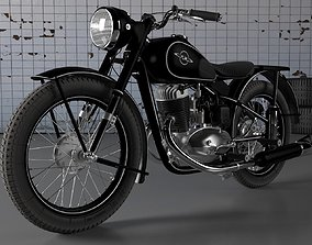 3D model IZH 49 Motorcyce