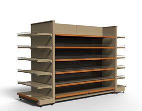 Shelving system GONDOLA H 180 cm 3D model