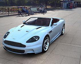 3D asset Aston Martin DBS Volante 2010