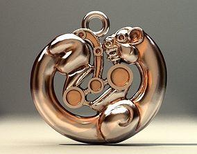 3D print model Skif gold panthera
