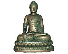 3D print model 3D model VR / AR ready Buddha
