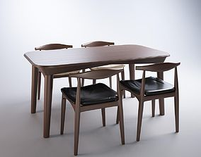 Table and chair Elbow 3D bend