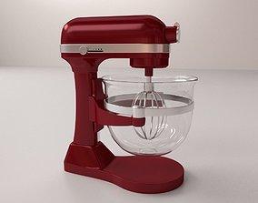 Mixer 3D model dough