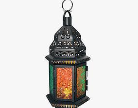 Moroccan lantern 01 3D