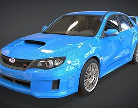 Subaru Impreza WRX STi GV 2011 3D