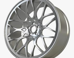 3D model Wheel Rim Metal