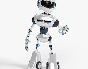 3D asset Custom Robot