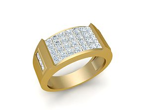 2320 Diamond Ring 3D print model