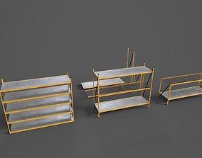 WAREHOUSE MODULAR RACK 3D asset