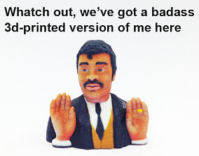 Neil Degrasse Tyson - Badass 3D model
