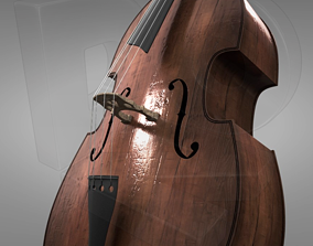 orchestra Double bass 3D