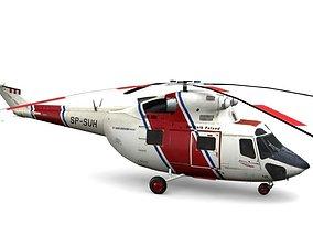 Sokol PZL W-3 3D asset