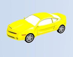 3D model realtime Chevrolet Camaro