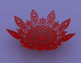 Bowl wired 3D print model
